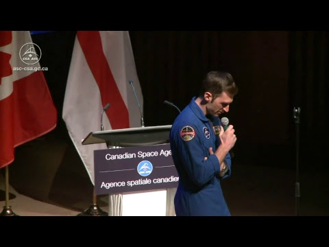 LIVE – David Saint-Jacques answers Nova Scotia students' questions from space