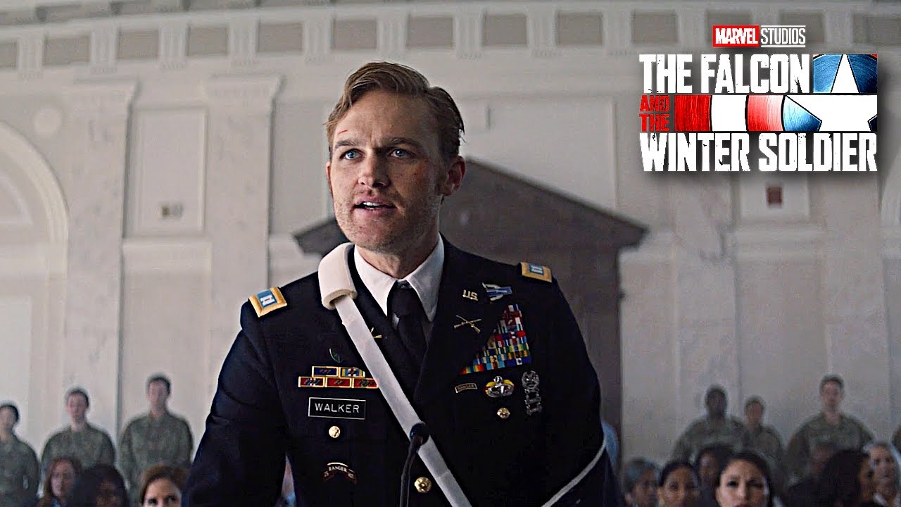 The Amazing Acting of Wyatt Russell - John Walker's trial - YouTube