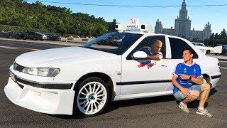ТАКСИ с САМИ НАСЕРИ по Москве / Taxi Marseille 2018