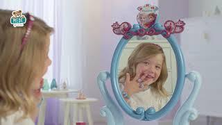 Kozmeticky stolík Frozen 2 Disney 2v1 Smoby