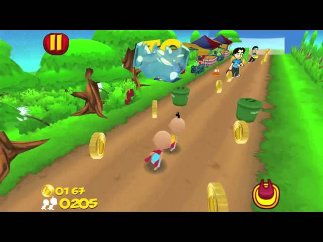 [Promo] Upin & Ipin Dash (iOS App) Travel Video