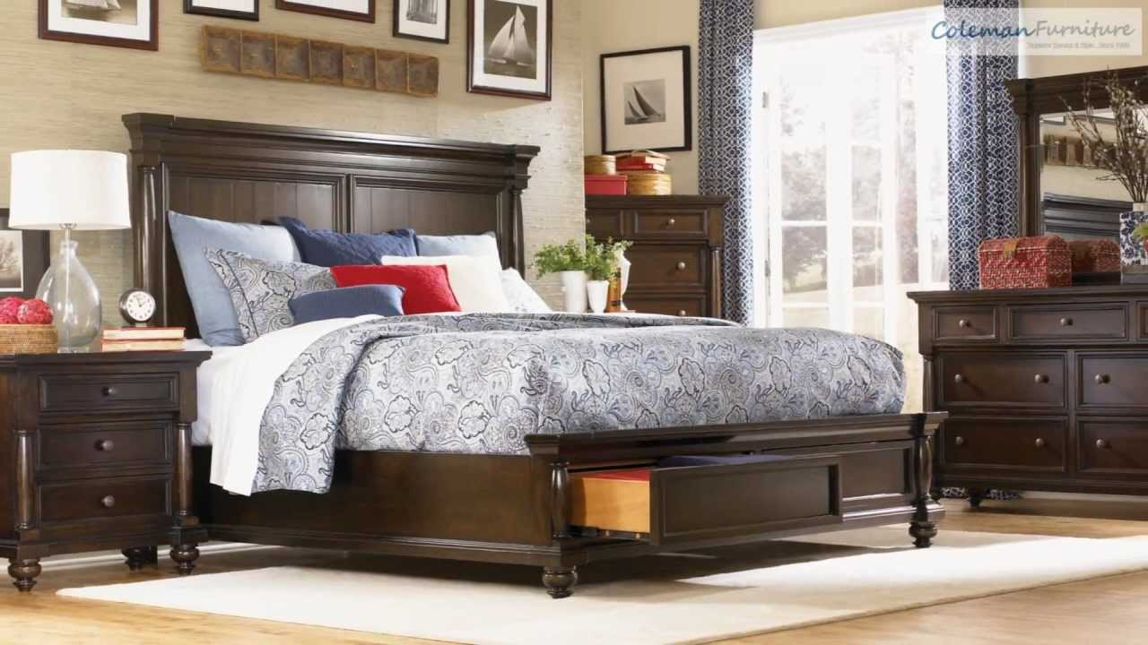 Awesome Davenport Storage Panel Bedroom Collection From Legacy Classic   YouTube