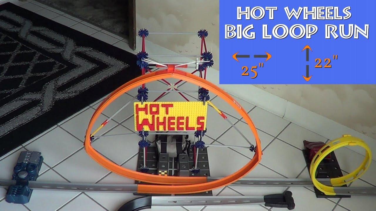 hot wheels big loop run youtube. Black Bedroom Furniture Sets. Home Design Ideas