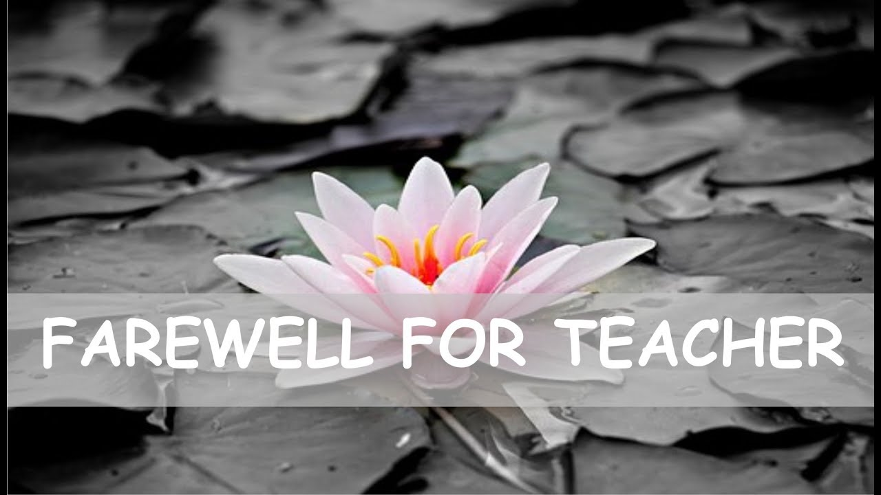 farewell quotes for teacher wishes and messages status goodbye