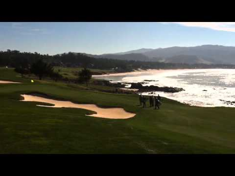 Practice rounds for AT&T Pebble Beach Nat