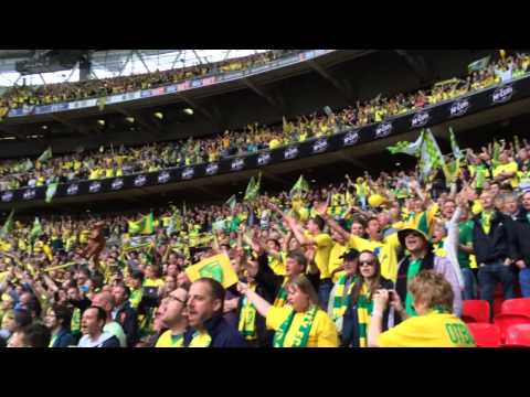 On The Ball City! Norwich City at Wembley!!