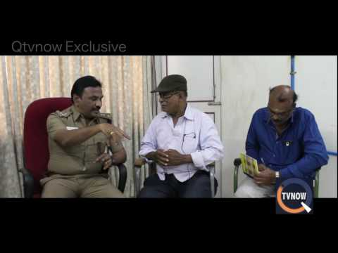 Qtvnow Special Interview Of Erode superintendent  Police Dr. Shiva Kumar