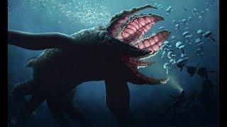 Подводные Монстры!!! МАЗОЗАВР. Чудовище из Глубин. Морские Монстры.