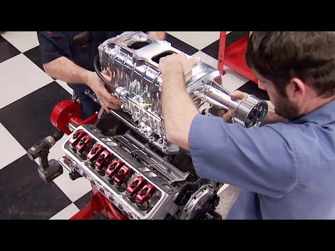 Building A 518HP Supercharged 350 Small Block - Engine Power S2, E6