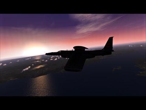 FSX-SE - Area51 U-2S - 70.000 feet altitude test
