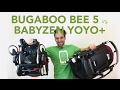 Bugaboo Bee 5 2017 vs Babyzen Yoyo+ | Comparisons | Reviews | Ratings | Prices | Magic Beans