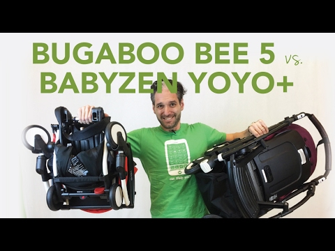 Bugaboo Bee 5 2017 vs Babyzen Yoyo+ | Comparisons ...