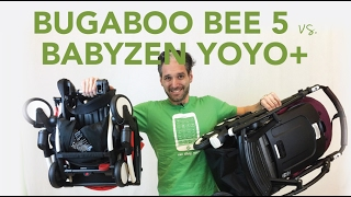 Repeat youtube video Bugaboo Bee 5 2017 vs Babyzen Yoyo+ | Comparisons | Reviews | Ratings | Prices | Magic Beans