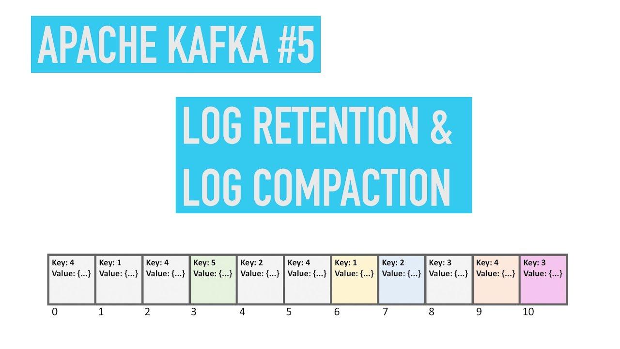 Apache Kafka #5: Log Retention & Compaction