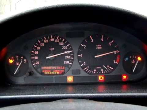 Bmw 318is E36 Instrument Cluster Test Youtube