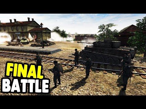 CRUSHING ENEMY DEFENSE LINE 1943 | Men of War: Assault Squad 2 Gameplay