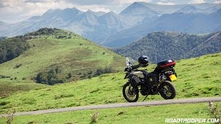 The Basque Pyrenees -  RT's Best Motorcycle Rides (F800GSA)