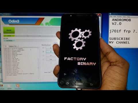 Repeat Samsung J701F 2018 Unlock Error, reading data  Error