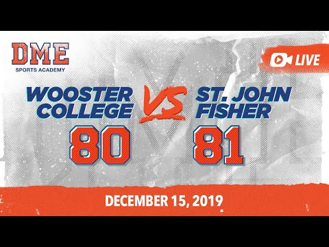 Wooster College Vs St. John Fisher