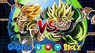 Whos Better? Gogeta vs Broly | Dragon Ball Z Dokkan Battle - Global
