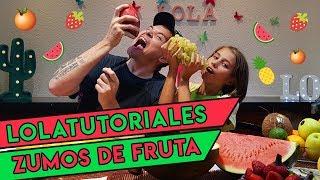 como hacer zumos naturales de frutas con niños 4 sabores para la vuelta al cole
