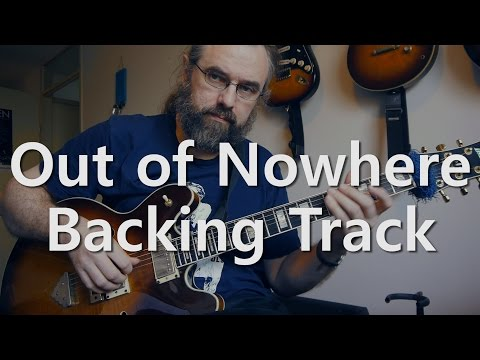 Out Of Nowhere - Backing Track - Boogaloo  - 149 BPM
