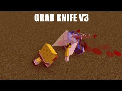 Roblox Script Showcase Grab Knife V3 Youtube