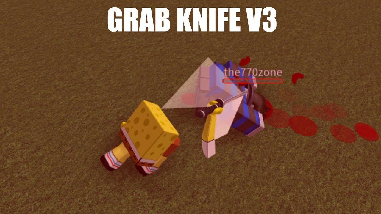Roblox Grab Knife V3 Script Roblox Script Showcase Grab Knife V3 Youtube