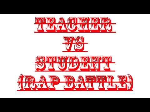 India Rap Battle (teacher vs student )