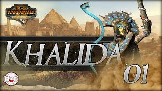 Rise of the Tomb Kings - Total War Warhammer 2 - Khalida Campaign 1