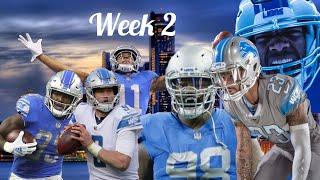 Detroit Lions week 2 VS the LA Chargers preview