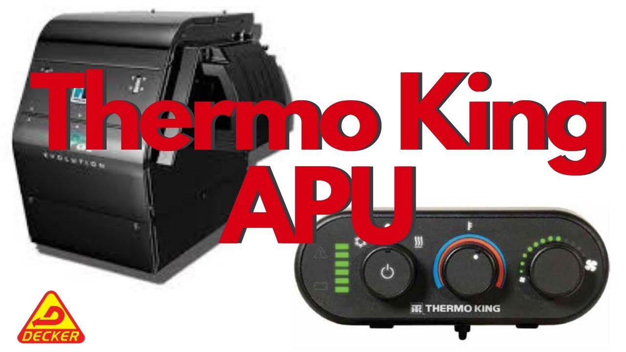 hight resolution of how to use a thermo king apu