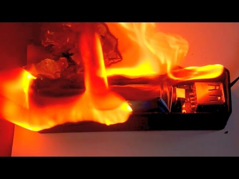 """""""Controlled"""" explosion of a UltraFire 18650 battery from YouTube · Duration:  4 minutes 35 seconds"""