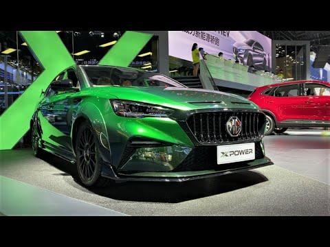 2021 MG6 X-Power Walkaround—2020 Chengdu Motor Show—2021款上汽名爵MG6,外观与内饰实拍