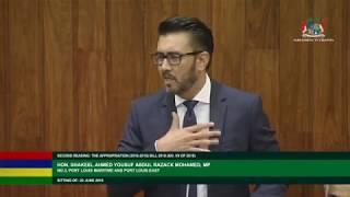Budget 2018/19 Debate  22 06 18