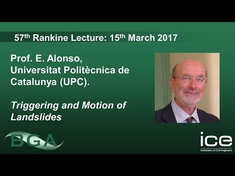 57th Annual BGA Rankine Lecture