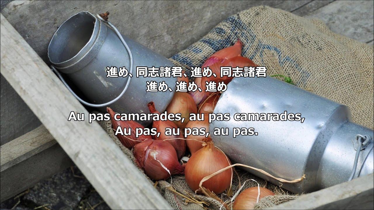 """【和訳付き】玉ねぎの歌(フランス民謡) - """"Chanson de l'Oignon"""""""