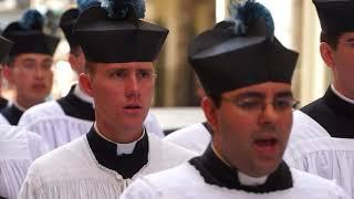 Rzym, 16 września 2017 roku, X-lecie Summorum Pontificum. Procesja do Bazyliki Świętego Piotra