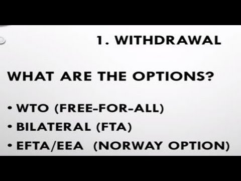 Flexcit: The Brexit Plan - EFTA/EEA is the ONLY option that gets us out