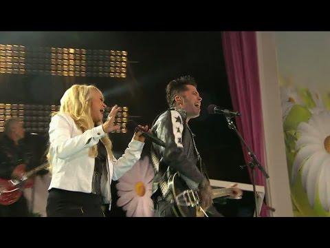 Nanne Grönvall, Brolle och The Boppers framför låten The King - Lotta på Liseberg (TV4)