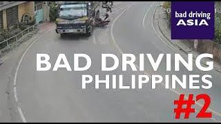 Bad Driving Philippines #2 - crash compilation