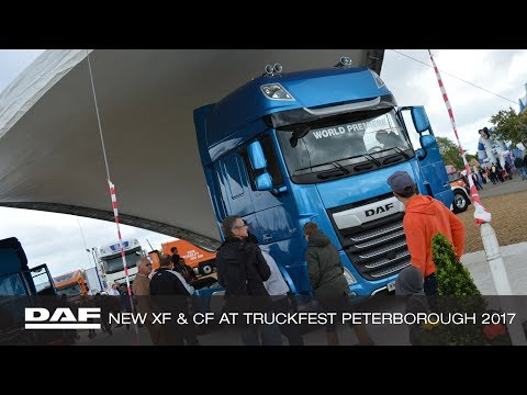DAF Trucks UK | The New DAF XF and CF at Truckfest Peterboro