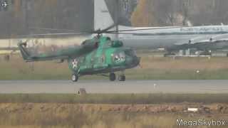 Миль Ми-8 посадка на - Чкаловский (CKL/UUMU)/Mil Mi-8 landing-Chkalovsky Airport (CKL/UUMU)