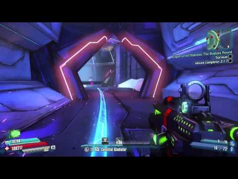 Borderlands: The Pre-Sequel! Holodome Digistructed Madness The Badass Round Level 65 Grapplerandrew
