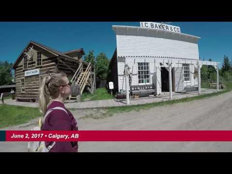 DF Tour 150 - June 2, 2017 - Calgary Heritage Park and off to Edmonton