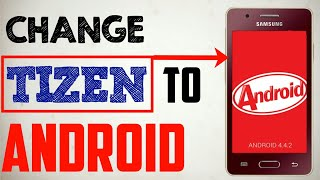 How To Open Android settings in Tizen, it is not fake.