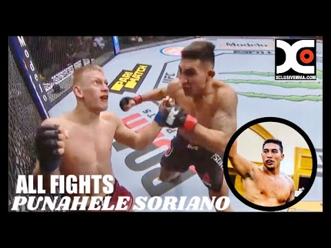Punahele Soriano ALL FIGHTS (Complete) : Hawaiian fighter