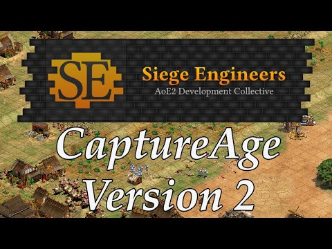 Siege Engineers & CaptureAge Version 2 Announcement Video : aoe2