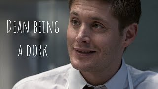 Dean Winchester being a dork for 10 minutes and 15 seconds