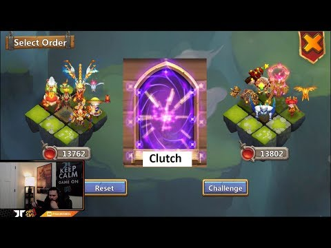 JT's Main Lucky Roll For Hero Collector Day 3 Lost Battlefield Castle Clash